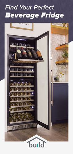 It's the hottest new hang out spot...your home bar! And it isn't complete without a beverage cooler or wine fridge. Find all your home bar essentials at Build.com