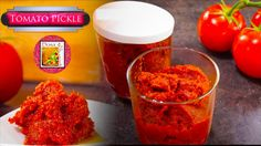 Tomato Pickle - Spicy & Tangy    Easy & Simple Method