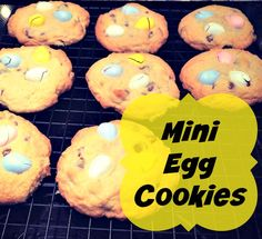 Super yummy, simple Mini Egg Cookies! Perfect for Easter or any day really!