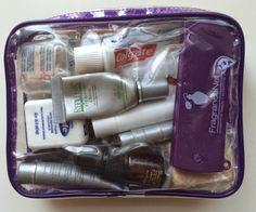 Gail's Long Haul Flight Essentials Kit