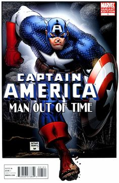 Captain America: Man Out of Time # 1 (Variant) by Arthur Adams
