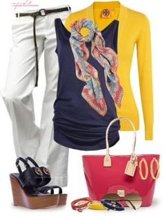 """""""Primary Colors"""" by tufootballmom on Polyvore by eddie"""