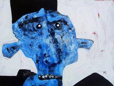 Protesto No. 8  Acrylic on Hardboard Panel by mellonfineart, $150.00