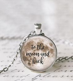 To The Moon And Back Necklace by Livin' Freely on Scoutmob