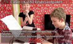 Casio- Keyboard Playing..