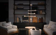 Punnus-valasimelle GOOD DESIGN® palkinto Lamp Design, Pendant Lamp, Floor Lamp, Shelving, Bookcase, Cool Designs, Table Lamp, Flooring, Led