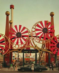 Coney Island, Luna Park, Brooklyn, 2010
