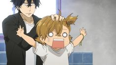 Barakamon ~~ Ah, the comedic chemistry between these two characters is truly refreshingly new! :: Seishuu and Naru