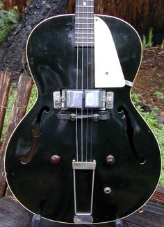 Vega electric archtop tenor guitar