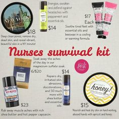 Calling All Nurse's be sure  to check out more awesome natural based goodies at https://www.perfectlyposh.com/AngelaHowell/front.. and with Posh it's Buy 5Get 6th Free (less lip balms)