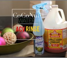 Relaxed Hair Health: ACV+Coconut Water= The perfect hair rinse
