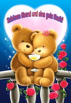 Good Night, Good Morning, Teddy Beer, Love Hug, Friends Forever, New Friends, Special Day, Smurfs, Friendship