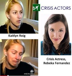 Behind The Scenes (literally) at Sandy Hook: Crisis Actors