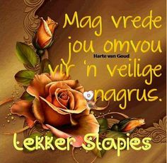 Lekker Dag, Evening Greetings, Afrikaanse Quotes, Goeie Nag, Goeie More, Morning Inspirational Quotes, Good Night Quotes, Sleep Tight, Empowering Quotes