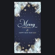 Christmas and New Year 2021 card - Pixsector Free Vector Images, Vector Free, Free Vector Illustration, Merry Christmas And Happy New Year, Psd Templates, Cards, Photos, Pictures, Maps
