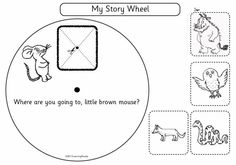 Gruffalo Story Wheel - An interesting way to retell the story.