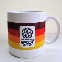 Epcot Mug 1982 Disney World Mug Florida by TheNuthatchVintage