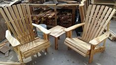 No need to exceed the budget amount when you have the pallets available for creating an inexpensive and stylish chair set. There are many ideas when it comes making the pallet wood furniture, the chairs presented are easy to create by cutting and assembling the pallets.