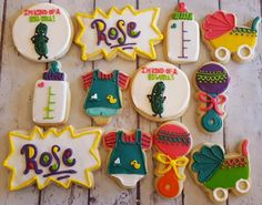 Rugrats baby cookies - Hayley Cakes and Cookies Baby Cookies, Baby Shower Cookies, Cookies Et Biscuits, Sugar Cookies, Baby Party, Baby Shower Parties, Baby Shower Themes, Shower Ideas, Shower Party