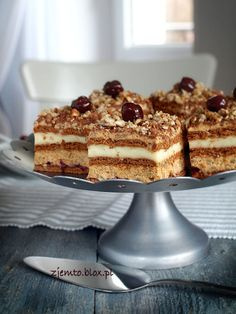 Specialty Foods, Polish Recipes, Sweet Recipes, Tiramisu, Ale, Caramel, Bakery, Goodies, Cooking Recipes