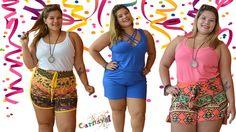 """""""Ó abre alas que eu quero passar"""" Carnaval chegando e nada melhor do que esta confortável e na moda! Conheça nossa loja www.bigteen.com.br/loja #plussize #plussizebr #novamoda #modaplussize #bigteen"""