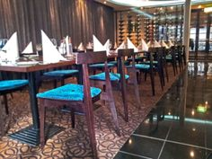 Straits @ RendezvousGrand Hotel – Adelaide | Concept Collections | Zoltan Dining Chair in Wenge (with custom upholstered seat)