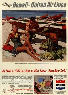 Hawaii by United Air Lines