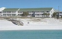 Great Destin location with ocean view! Close to everything!