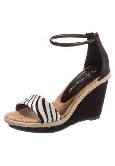 Chocolate Schubar - BLISS - Sandalen met hoge hak - Zwart