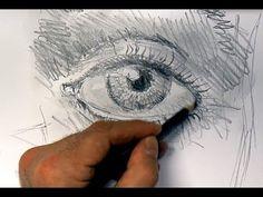ganz einfach zeichnen lernen 3: Auge skizzieren