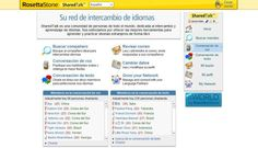 Sharedtalk, es una red que se dedica al intercambio de idioma - En http://www.sharedtalk.com/index.aspx