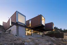 Las casas hechas decontenedores pueden ser fabulosas