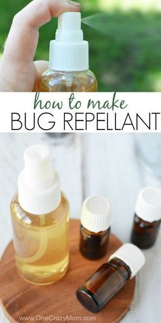 DIY Bug spray is very simple to make. This natural mosquito repellent works incredibly well and will prevent bug bites. Try this DIY mosquito repellent on the entire family. Everyone will love the fresh scent and how well it works. Diy Mosquito Repellent, Mosquito Spray, Natural Mosquito Repellant, Mosquito Repellent Essential Oils, Insect Repellent, Prevent Mosquito Bites, Remedies For Mosquito Bites, Essential Oil Bug Spray, Homemade Bug Spray