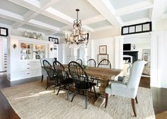 Image result for dining room table with wingback chairs