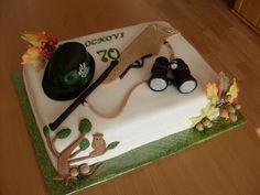 SLADKÉ POKUŠENIE: LOVECKÁ Bird Cakes, Cacciatore, Cakes For Men, Save The Date, Fondant, Creations, Decor, Pies, Recipes