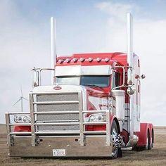 Semi Trucks, Old Trucks, Fire Trucks, Peterbilt 379, Peterbilt Trucks, Food Truck Interior, Redneck Trucks, Truck Quotes, Little Blue Trucks
