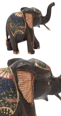 Elegant and majestic creatures, elephants are often celebrated for their wisdom, strength, and enviable memory. Pay homage to one of nature's greatest creatures with this charming Trunk and Tusk Decora...  Find the Trunk and Tusk Decorative Figure, as seen in the The Bohemian California Beach Lodge Collection at http://dotandbo.com/collections/the-bohemian-california-beach-lodge?utm_source=pinterest&utm_medium=organic&db_sku=116520