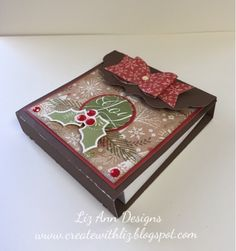 Create with Liz: #CTMHWhitePines Post it Note Holder #CTMHArtistry #Artiste