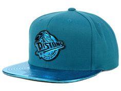 new products f0892 63d36 Detroit Pistons Mitchell   Ness NBA Standard Snapback Cap