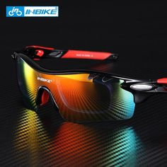 Polarized Sunglasses for Outdoor Sports - 5 Groups of Lenses