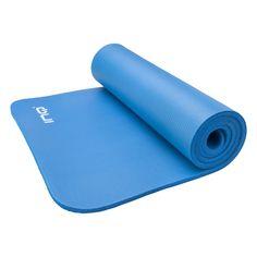 Gym mat van INQ Ideaal voor grondoefeningen Voor tijdens de sportles of voor thuis  Afmeting: 180 cm x 60 xm met een dikte van 1 cm. #yoga #perry