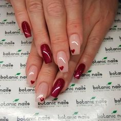 35 Outstanding Classy Nails Ideas For Your Ravishing Look Copyright Nail Designs Journal Nail Art Designs, Classy Nail Designs, Colorful Nail Designs, Winter Nail Designs, Botanic Nails, French Nails, Valentine Nail Art, Almond Nails Designs, Classy Nails