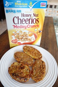 French Toast Cheerios Honey Nut Cheerios, French Toast, Cereal, Grains, Breakfast, Food, Dishes, Morning Coffee, Essen