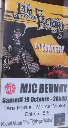 Concert à la MJC de Bernay...