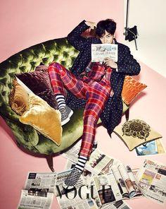 Lee Seung Gi - Vogue Magazine January Issue '15