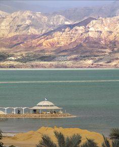Dead Sea and Jordan side