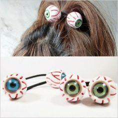 Pretty Plastic Eyes Headband Hair Rope Hairwear