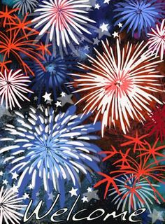 how to paint fireworks on a black background with acrylic paint Firework Painting, Flag Painting, Summer Painting, Easy Canvas Painting, Diy Painting, Painting & Drawing, Canvas Art, Fireworks Art, Patriotic Pictures