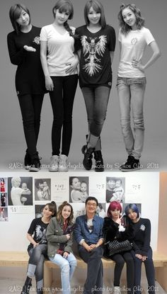 2NE1′s Park Bom receives group picture as a birthday gift