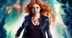 Katherine McNamara as Clary Fray on Shadow Hunters